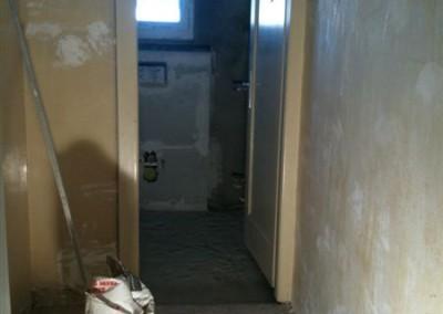 Rénovation d`un wc séparé